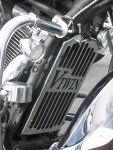 Radiator Cover Chrome - Vulcan 1700 Classic, Nomad, Voyager