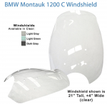 Replacement Windshield for BMW R1200 C Montauk 2002-2004