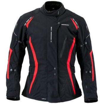 Textile Jacket Melina Black / Red