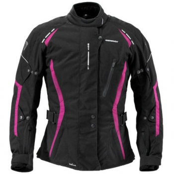 Textile Jacket Melina Black /  blackberry