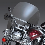 SwitchBlade 2-Up Windshield - clear - Vulcan 1600 Classic