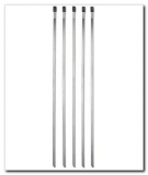 "Stainless Steel Cable Ties - 8"" - 5 Pack"