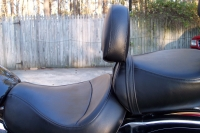 Driver Backrest - Vulcan 1600 Classic + Nomad - Mustang