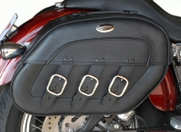 Quick Disconnect Saddlebags - Vulcan 900 / Vulcan 2000