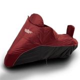 UltraGard Large Cruiser Cover - Cranberry/Black