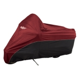 UltraGard Dresser/Bagger Cover - Cranberry/Black