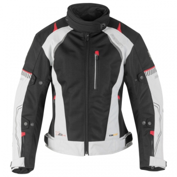 X-Air Evo Women's Textile Blouson light gray-black