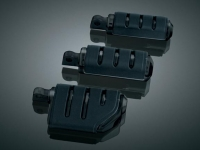 Glossy Black Trident Small ISO®-Pegs - Male Mount