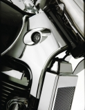 ABS CHROME NECK TRIM - Suzuki C50, M50, VL800