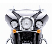 Auxilliary Driving Lights - Vulcan 1700 Vaquero