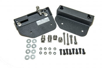 Easy Brackets for Triumph Commander with OEM hard mount backrest