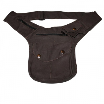 Hip Bag ° Buddy ° brown ° Bumbag ° Belly bag