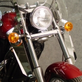Chrome Lowers for SwitchBlade Windshield System