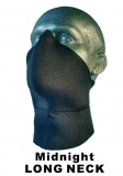 "Face Mask ""Midnight LONG NECK"""