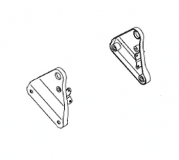 Solo Seat Mounting Brackets for Vulcan 800 Drifter