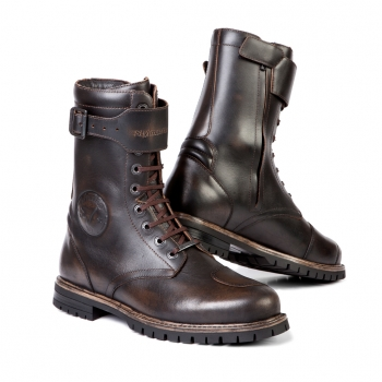 "STYLMARTIN - ""Rocket"" - waterproof motorcycle boots brown"