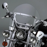 SwitchBlade Shorty Windshield - Light Gray - Vulcan 900 Custom - returned item