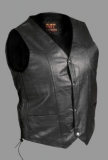 Classic Men's Motorcycle Vest