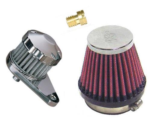 K&N Performance-Kit / Airbox-Eliminator - Vulcan 1500 A/B/C